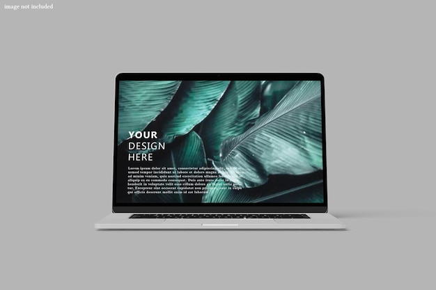 Schermmodel van laptop digitaal apparaat