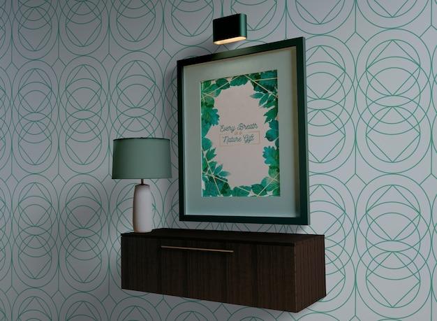 Schilderij frame met lege ruimte