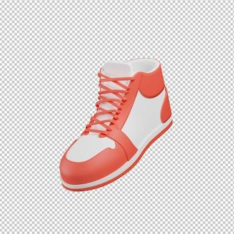 Schoen 3d illustratie