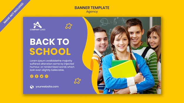 Schoolonderwijs toelating sociale media banner post