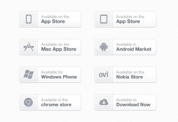 Schoon app download knoppen