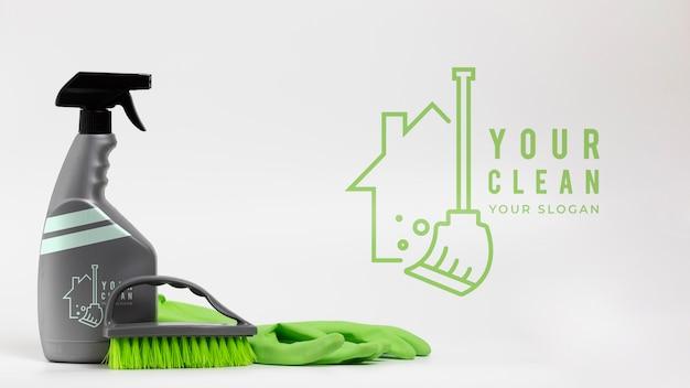 Schoonmaakproducten en apparatuur voor het huis