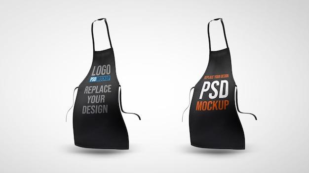 Schort 3d-rendering mockup ontwerp 3d-rendering ontwerp