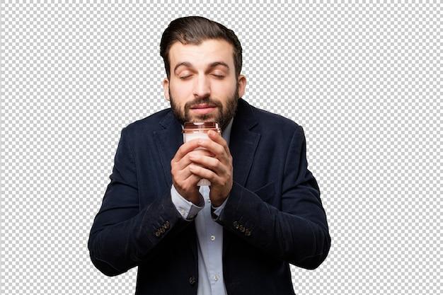 Senior mooie vrouw toont