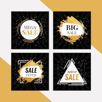 Set di banner mega vendita