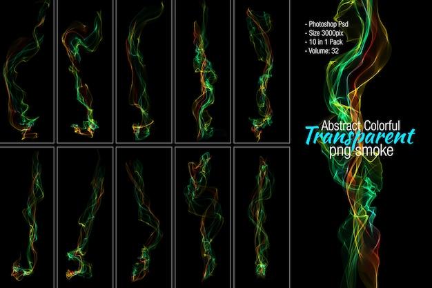 Set di fumo colorato