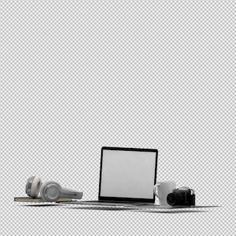 Set ufficio e computer