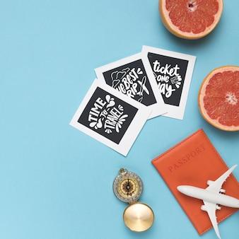 Set van motiverende belettering citaten voor vakantie reizen concept