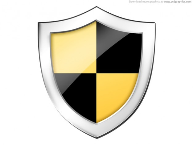 Shield, securtiy pictogram (psd)