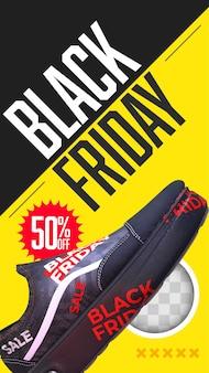 Shop kortingen voor zwarte vrijdag. 3d-rendering