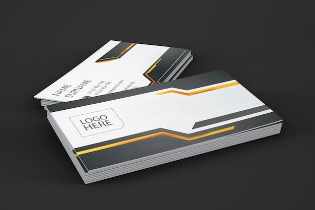 Showcase de tarjetas de visita