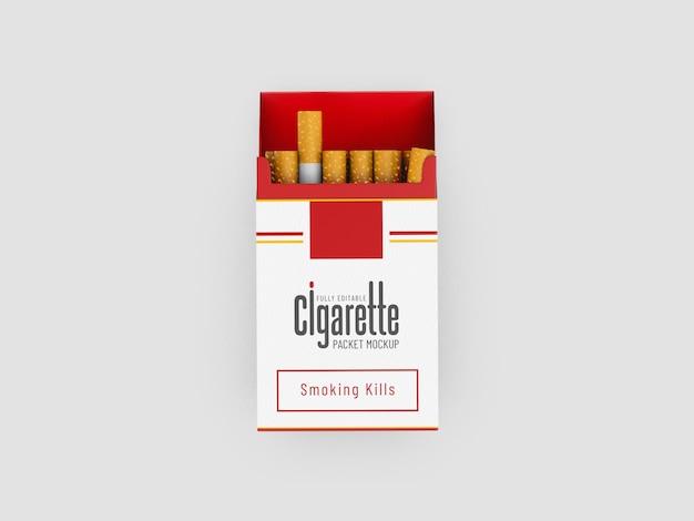 Sigarettenpakket mockup