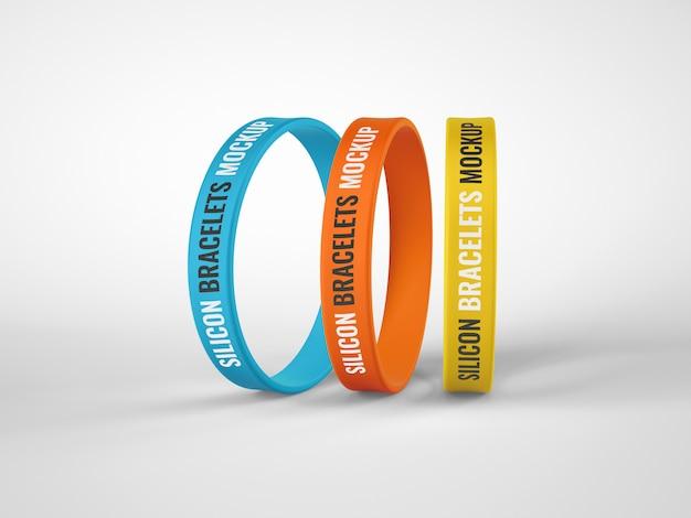 Siliconen rubberen armbandmodel