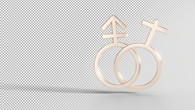 Simboli di identità di genere - trans femminile