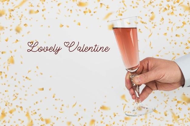 Simpatico messaggio per san valentino