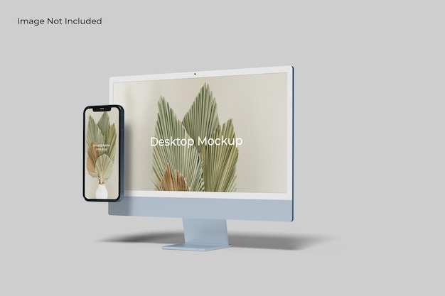 Sitio web de multi devices responsive mockups