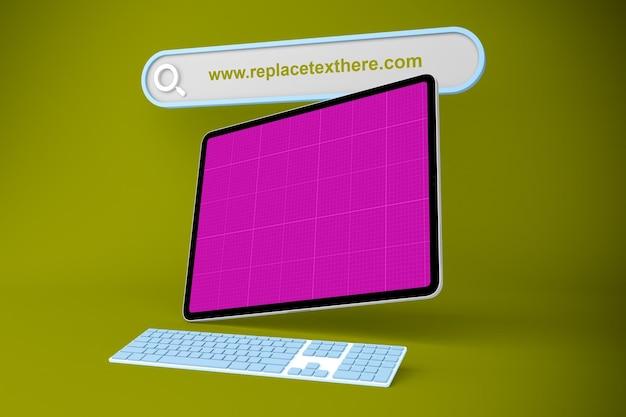 Sitio web de la tableta