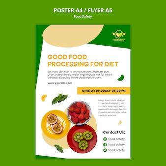 Sjabloon folder voedselveiligheid