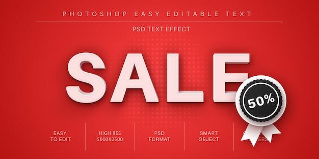 Sjabloon voor 3d-teksteffect