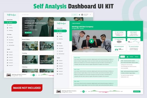 Sjabloon voor analyse-dashboard