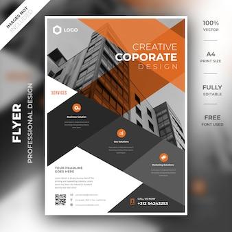 Sjabloon voor folder voor het bedrijfsleven