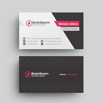 Sjabloon voor modern zakelijk visitekaartjes