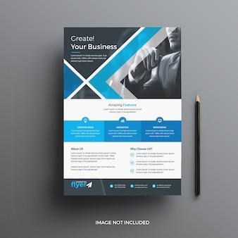 Sjabloon voor professionele zakelijke folders
