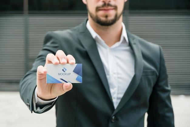 Sjabloon voor visitekaartjes van bedrijf