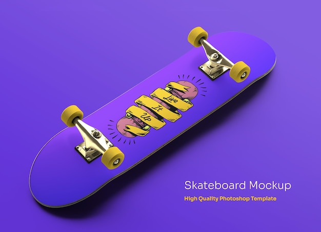 Skateboard mocku