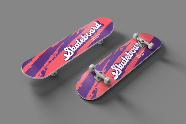 Skateboard psd mockup