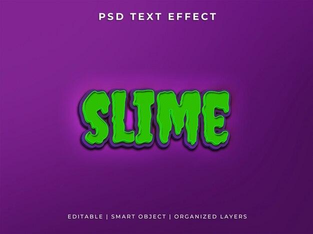 Slijm tekststijl effect