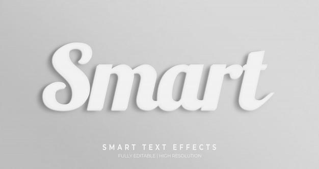 Slim 3d effect van de tekststijl