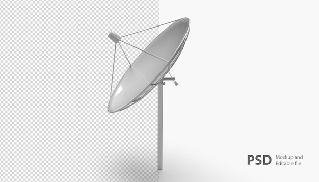 Sluit omhoog op geïsoleerde antenn