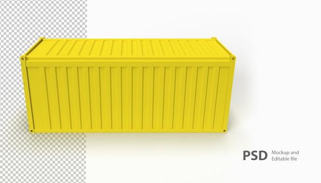 Sluit omhoog op geïsoleerde container