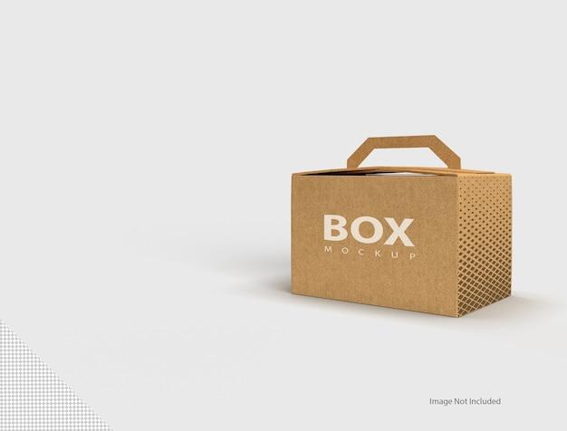 Sluit omhoog op geïsoleerde doos