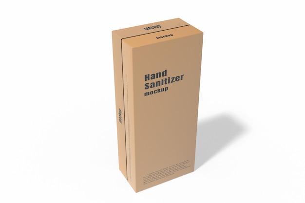 Sluit omhoog op geïsoleerde doosmodel