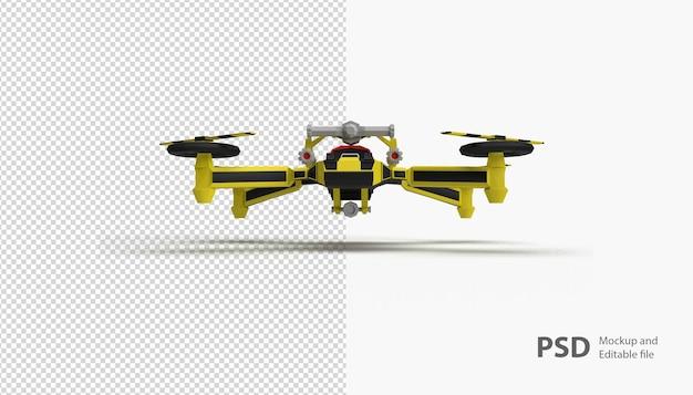 Sluit omhoog op geïsoleerde drone