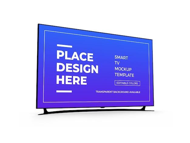 Smart tv 3d-modelontwerp
