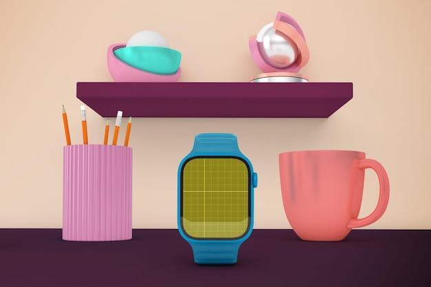 Smart watch-bureaublad