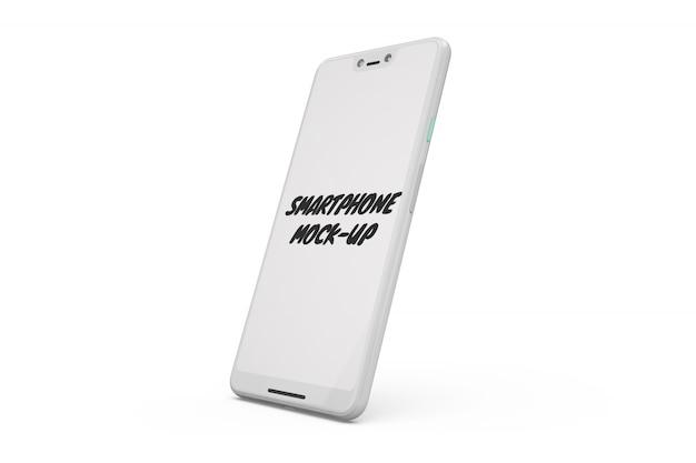 Smartphone maqueta aislada