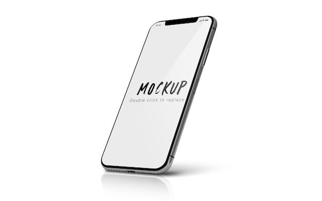 Smartphone-mockup geïsoleerd psd