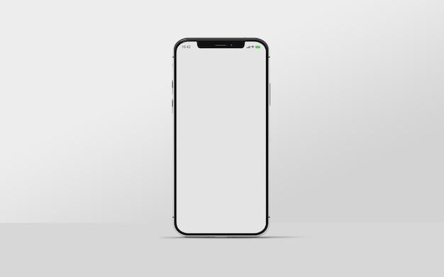 Smartphone-mockup geïsoleerd