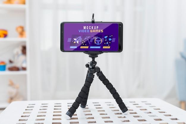 Smartphone con videojuegos