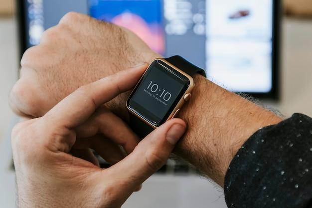 Smartwatch-mockup