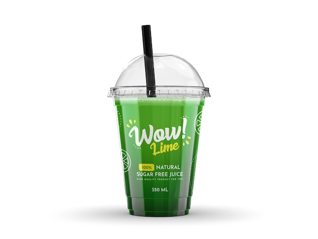 Smoothie cup-model