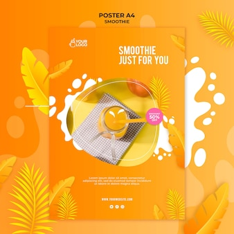Smoothie poster concept