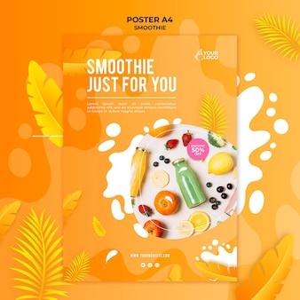 Smoothie poster thema