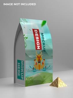 Snackstandaard verpakkingsmodel