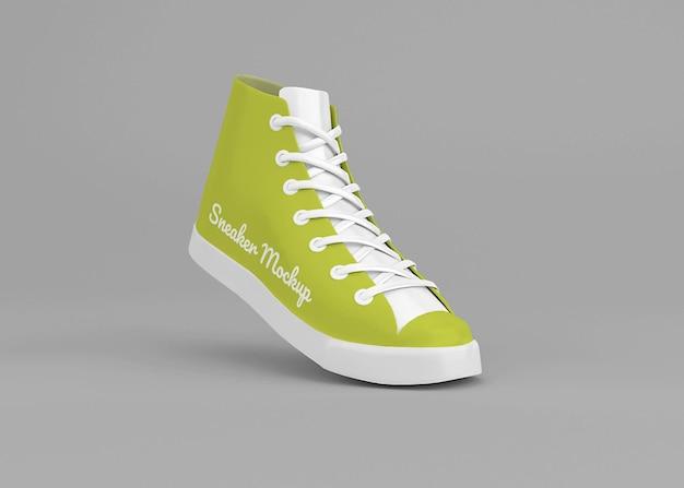 Sneaker mockup ontwerp geïsoleerd