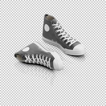 Sneakers isométricos